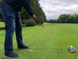 Du golf en jeans le 16 octobre